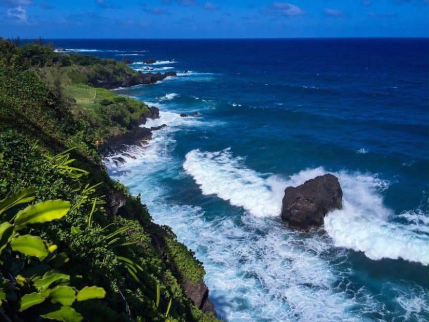 road to hana coast maui