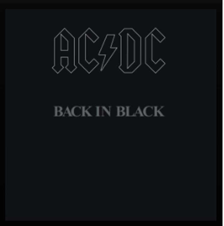 acdc back in black