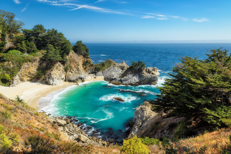 best scenic road trips in USA | Big Sur