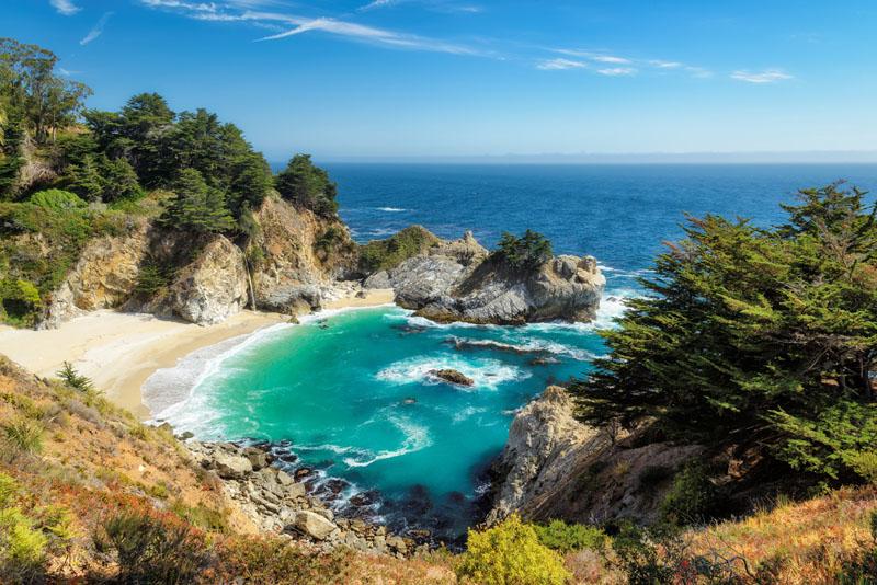 best road trips in US Big Sur