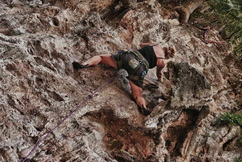 dave rock climbing