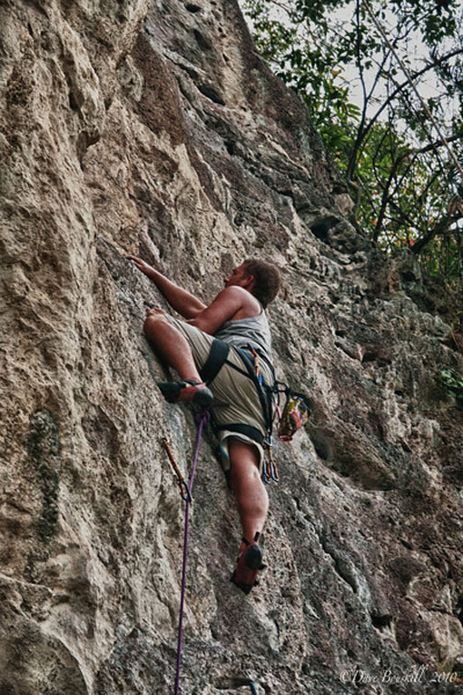 guide climbing railay