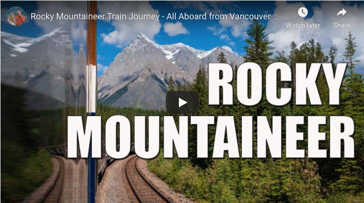 rocky mountaineer experience vancouver to Banff