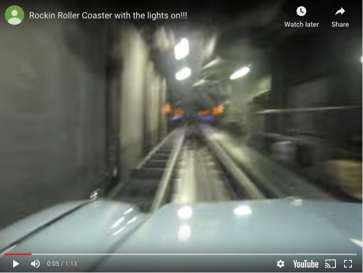 rockin' roller coaster   florida