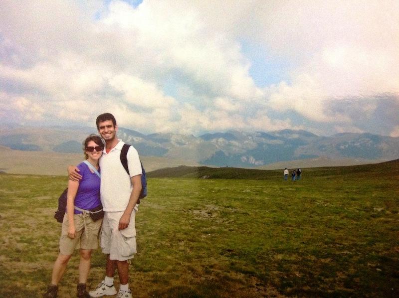 romania vacation couple
