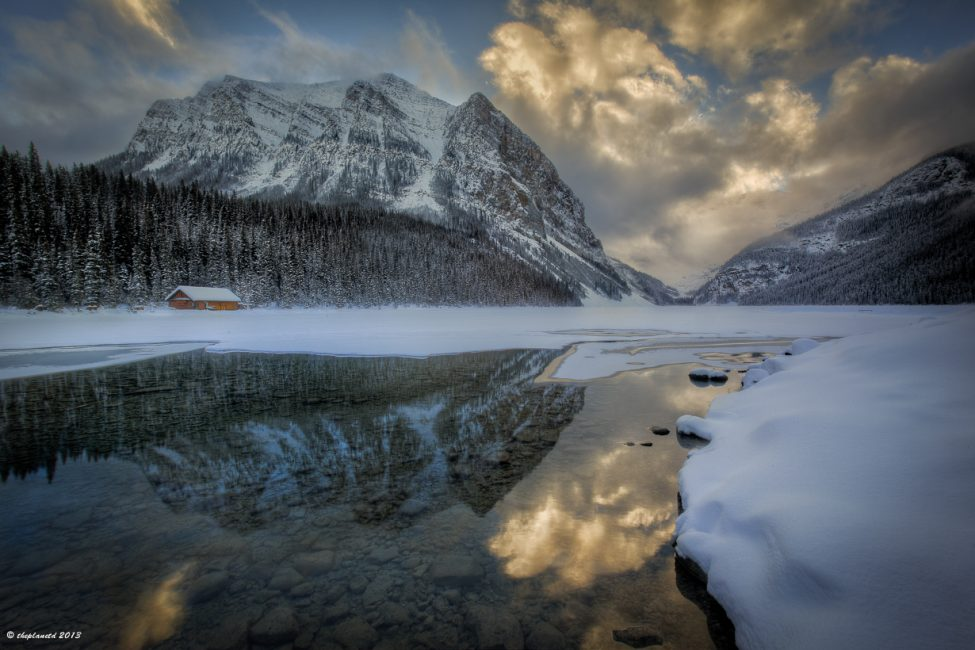 The beauty of Lake Louise, Alberta