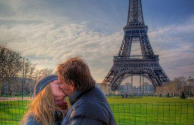 romantic cities paris