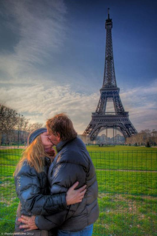 romantic cities paris