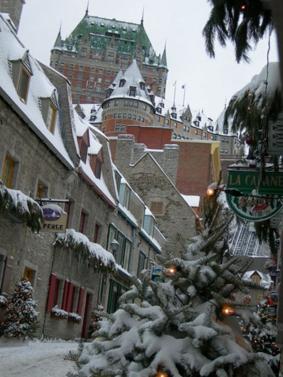 romantic getaways quebec