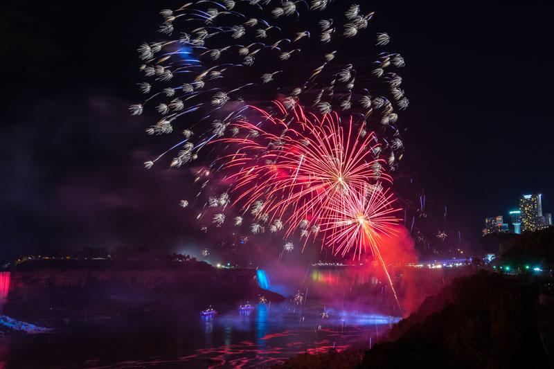 fireworks ontario