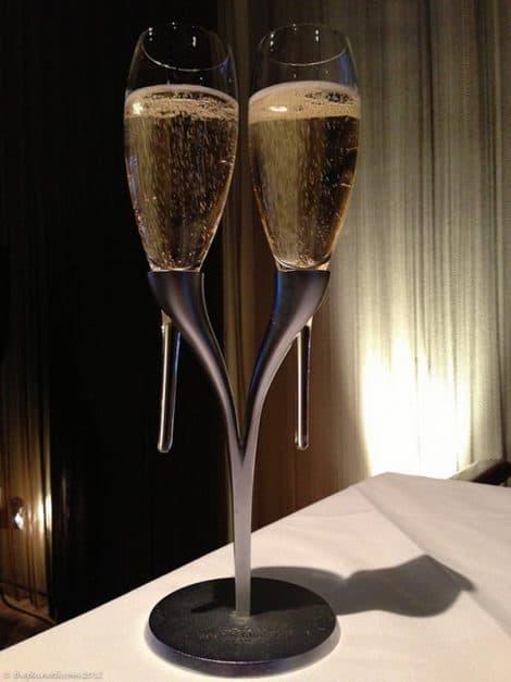 champagne siffleur romantique