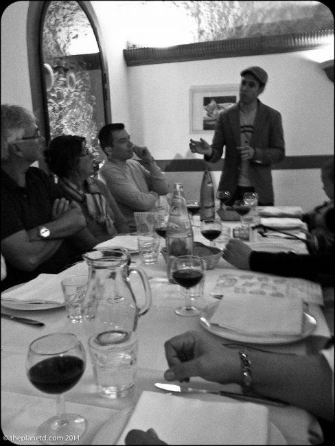 rome food tours wine cellar
