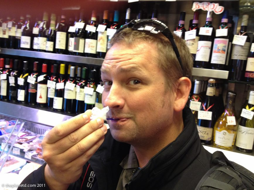 tasting balsamic in rome on tour