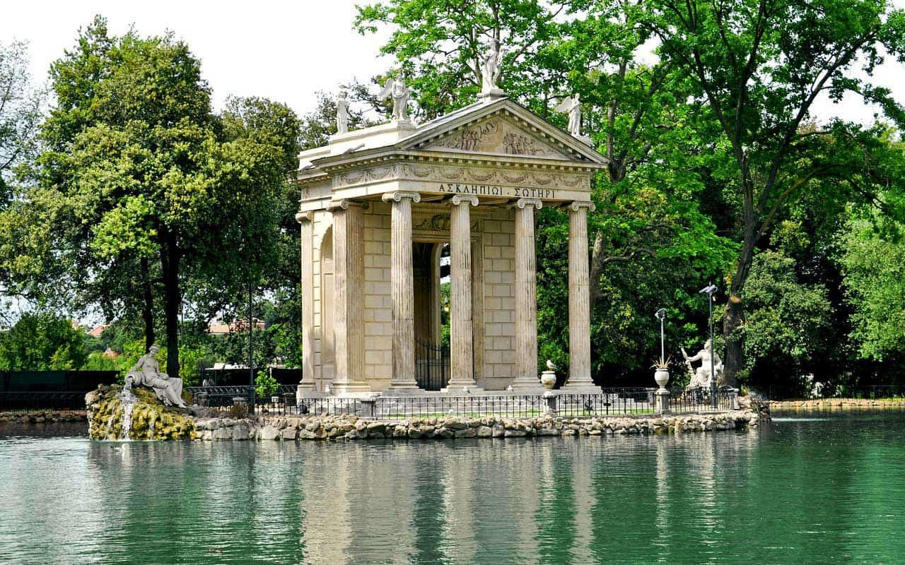Villa Borghese Park in Rome is Free to visit