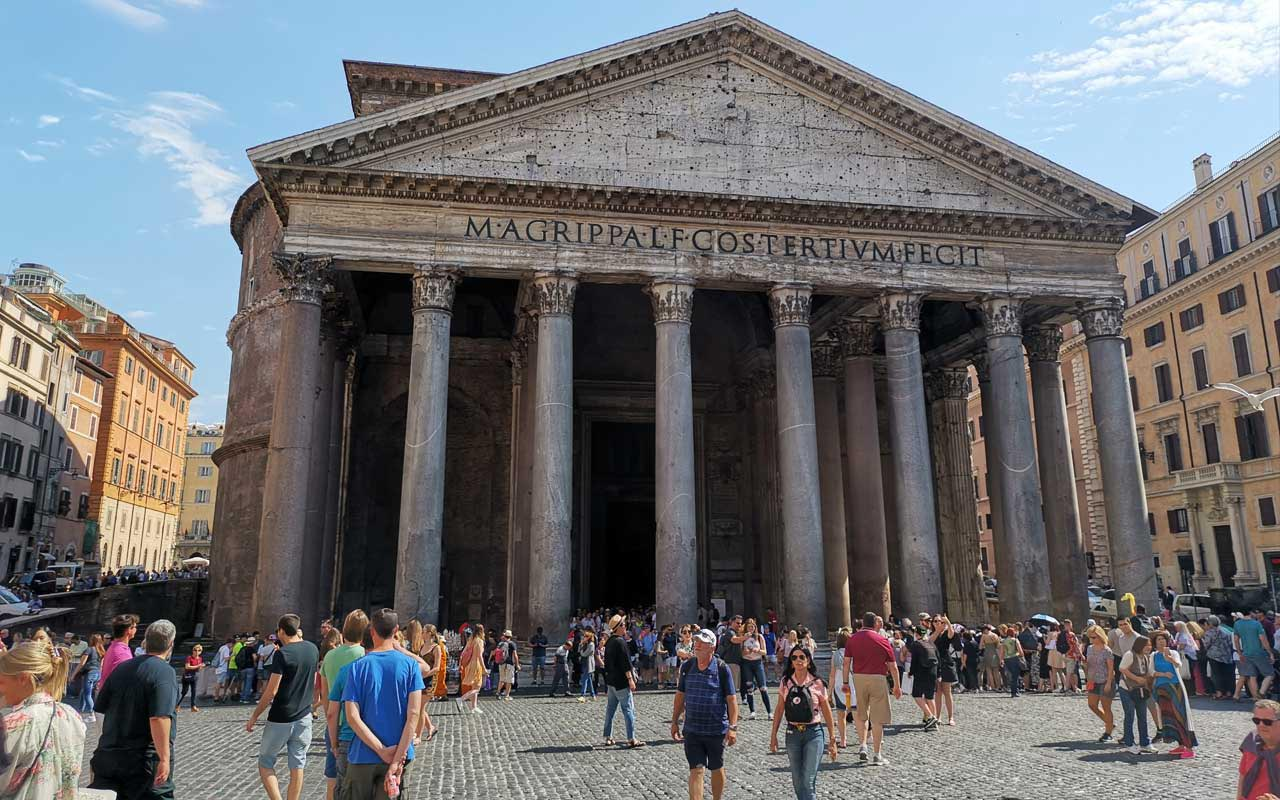 Free things to see in Rome: The Pantheon