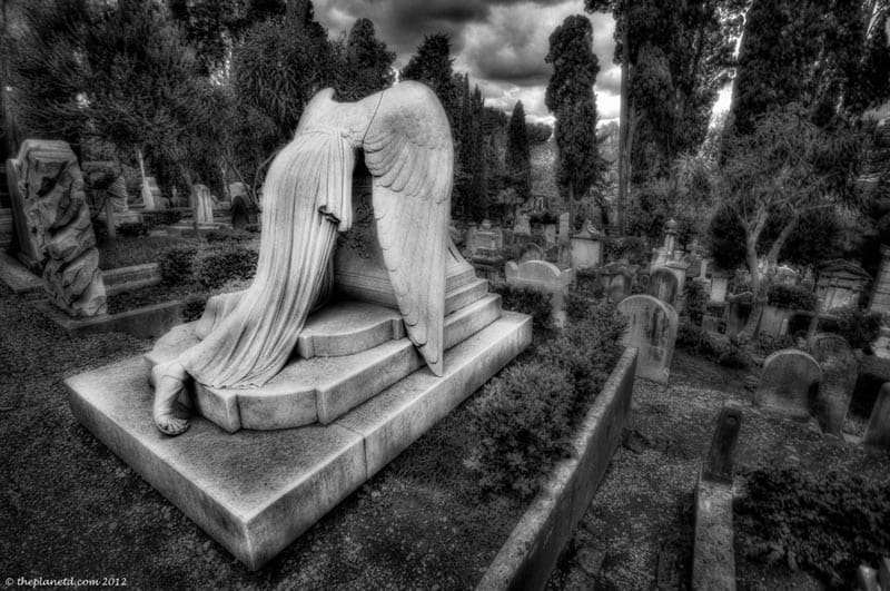 rome photos protestant cemetery