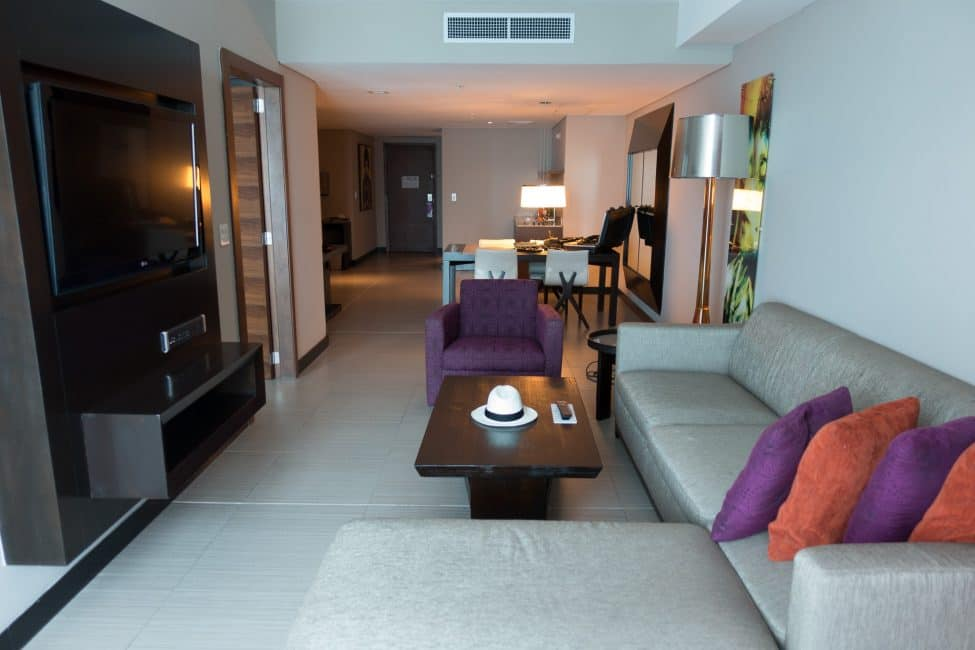 our room at hard rock hotel megapolis in panama city