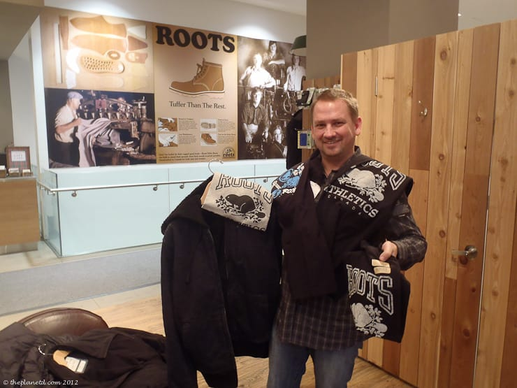 roots canada shopping shirts