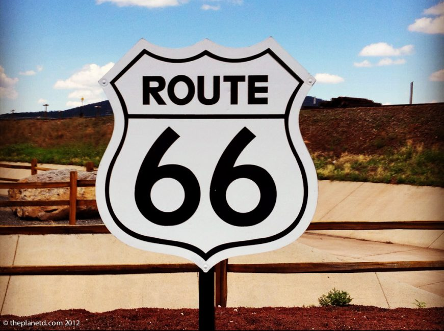 sign-post-route-66