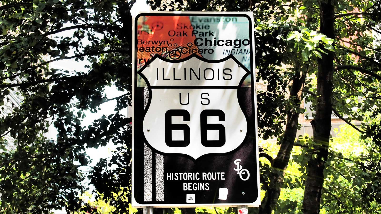 chicago sign route 66