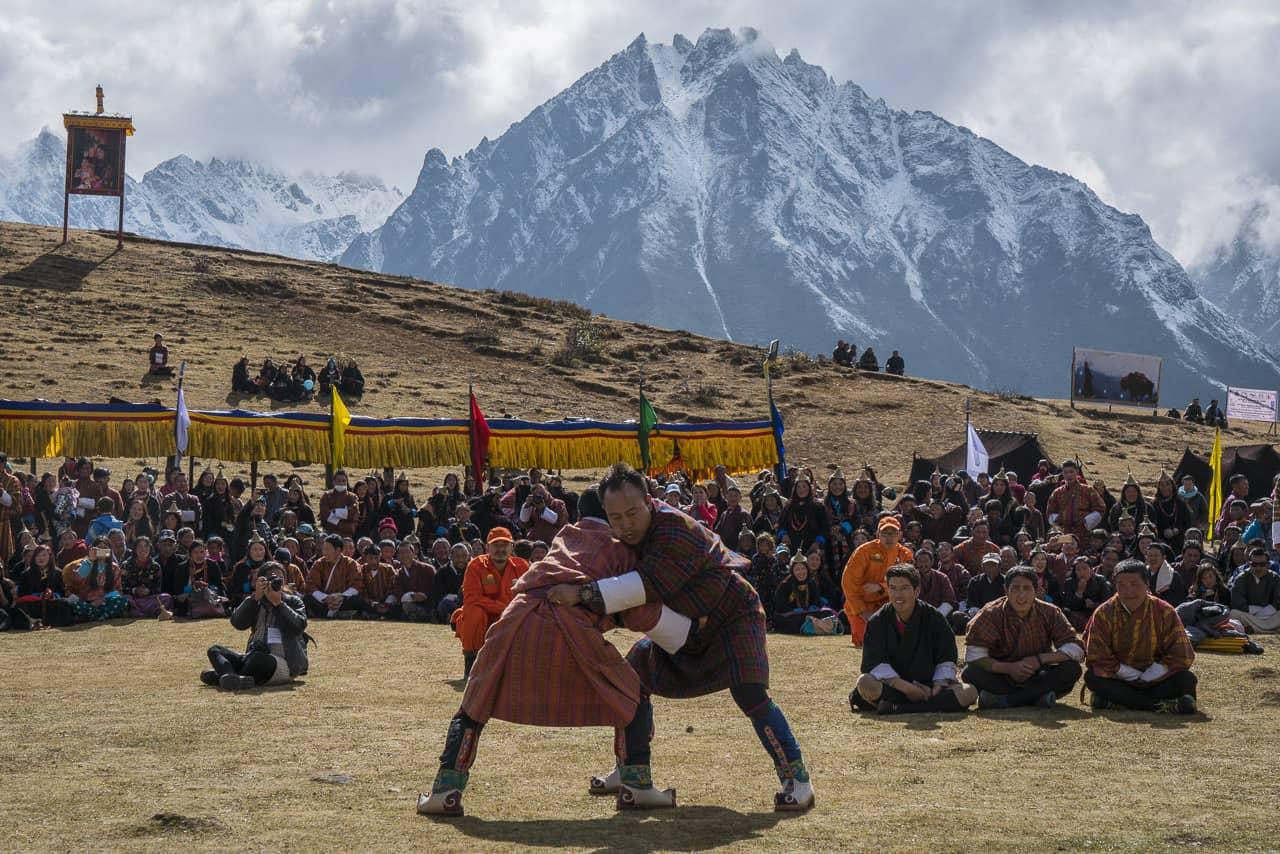 wrestling-bhutan