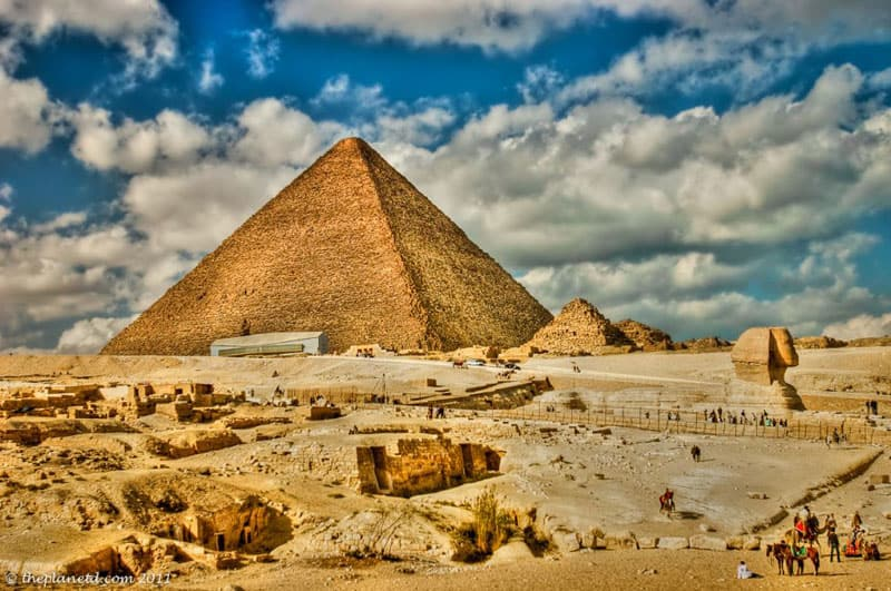 ruins of the world egypt