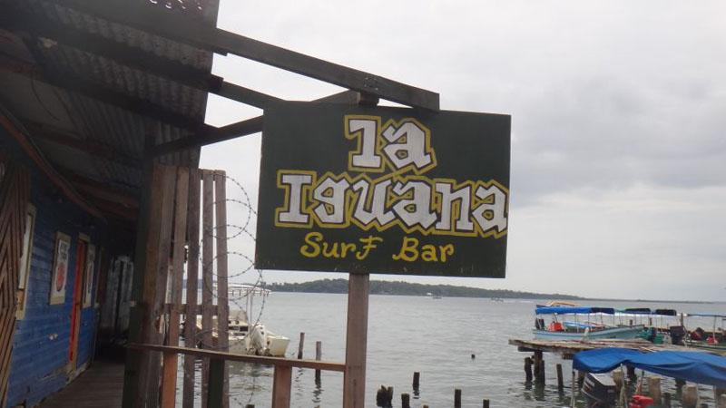 island bar partying