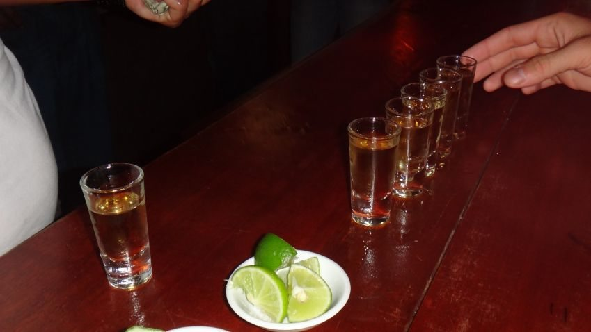 safe partying abroad tequila