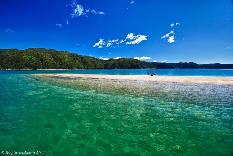 sailing Abel Tasman Anchorage Beach