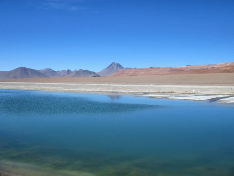lake in Atacama Desert | salar de tara