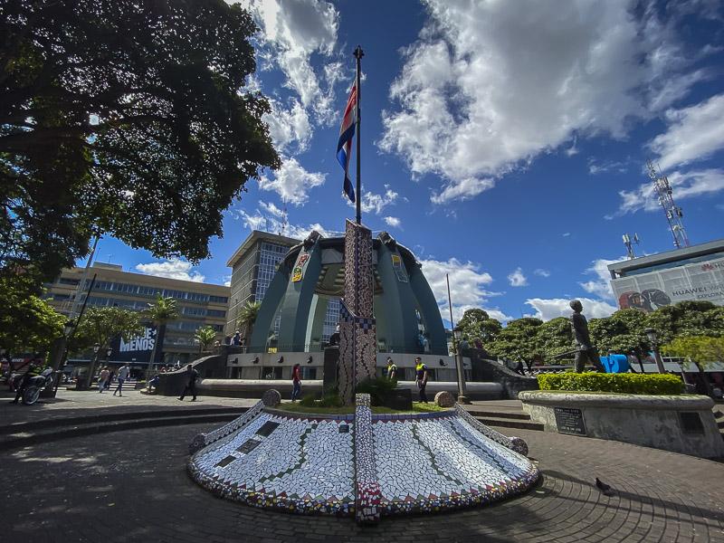 Place de la culture à San José Costa Rica