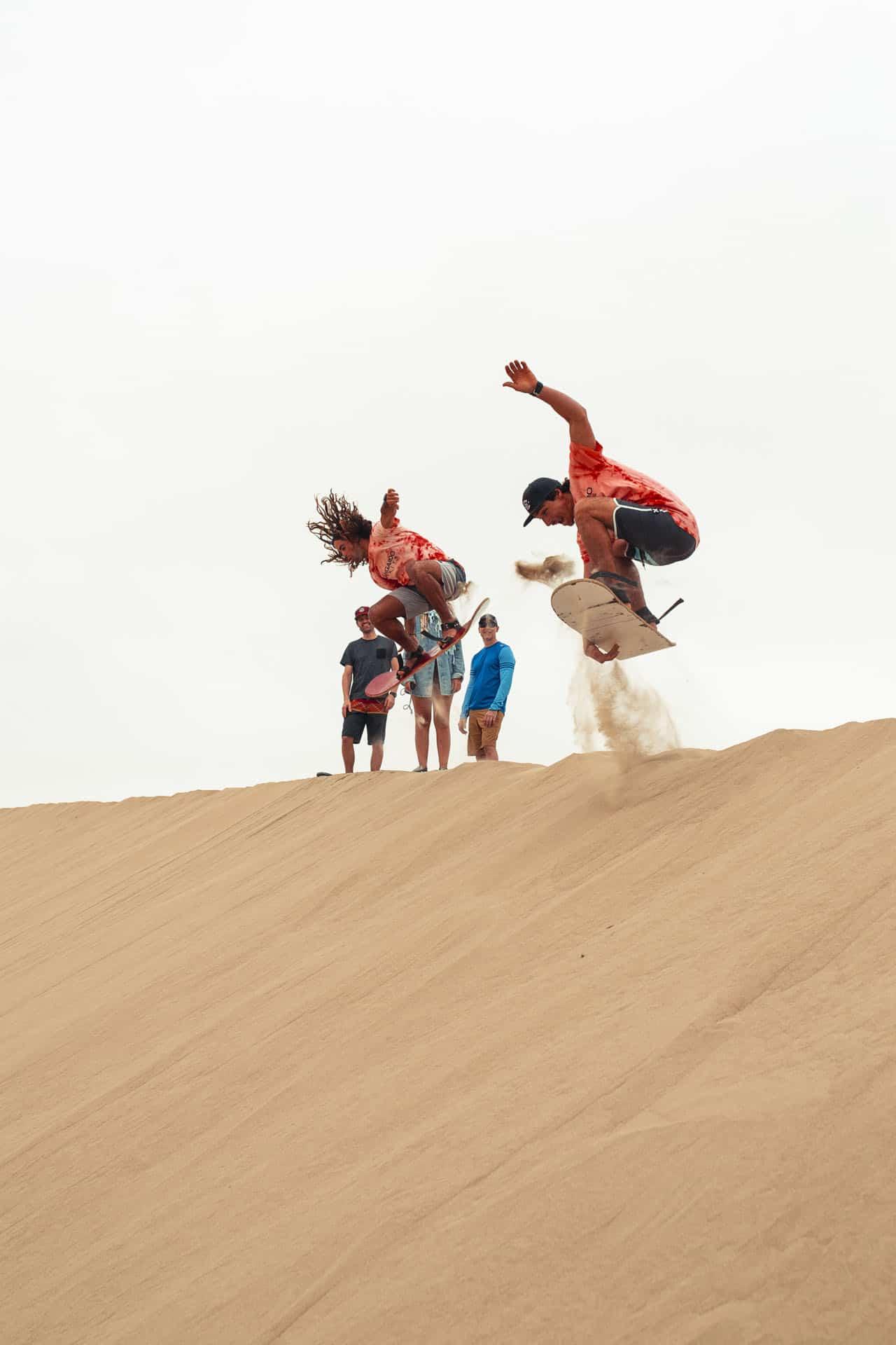 kiteboarding in paracas peru