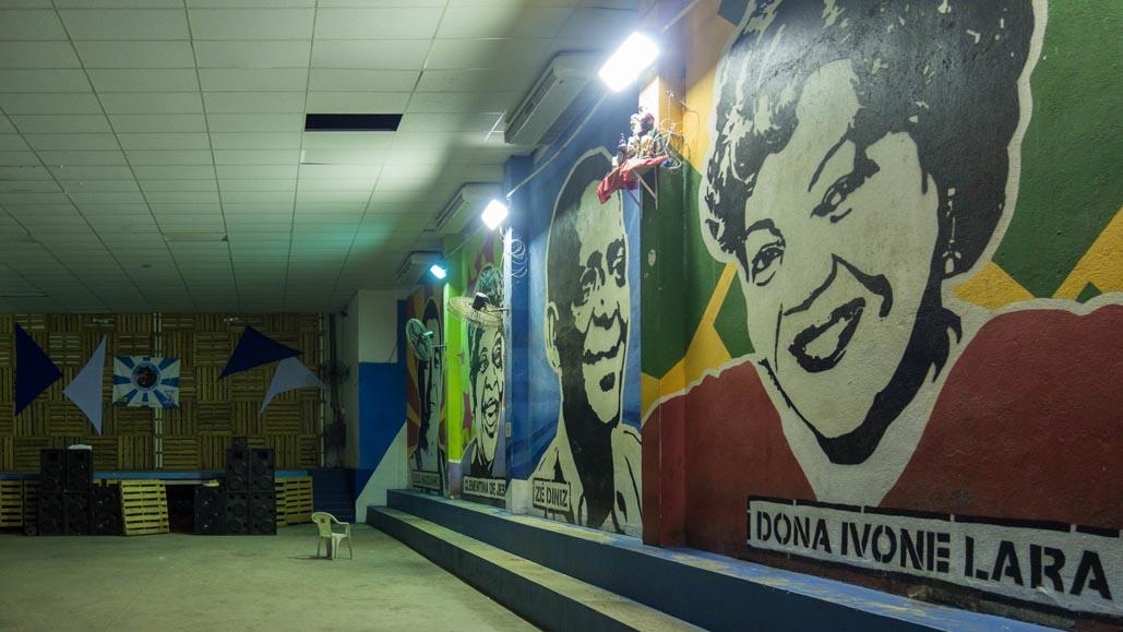 Favella Rio community centre