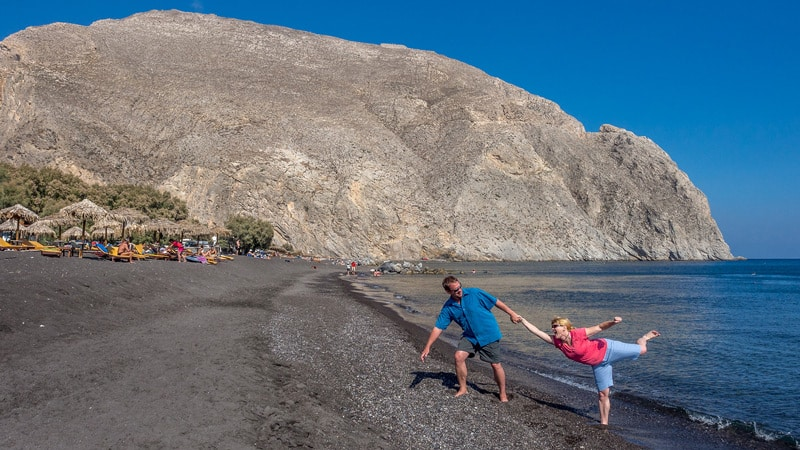 Santorini Greece Photography Guide Black Beach