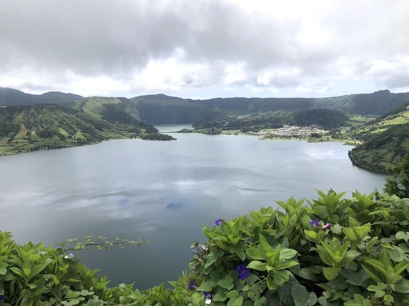 Azores Lakes of Sete Cidades in Sao Miguel