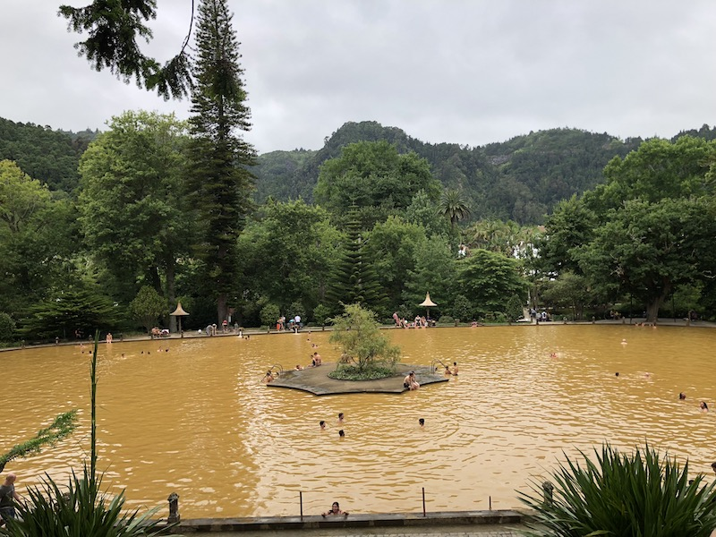 sao miguel the azores hot springs