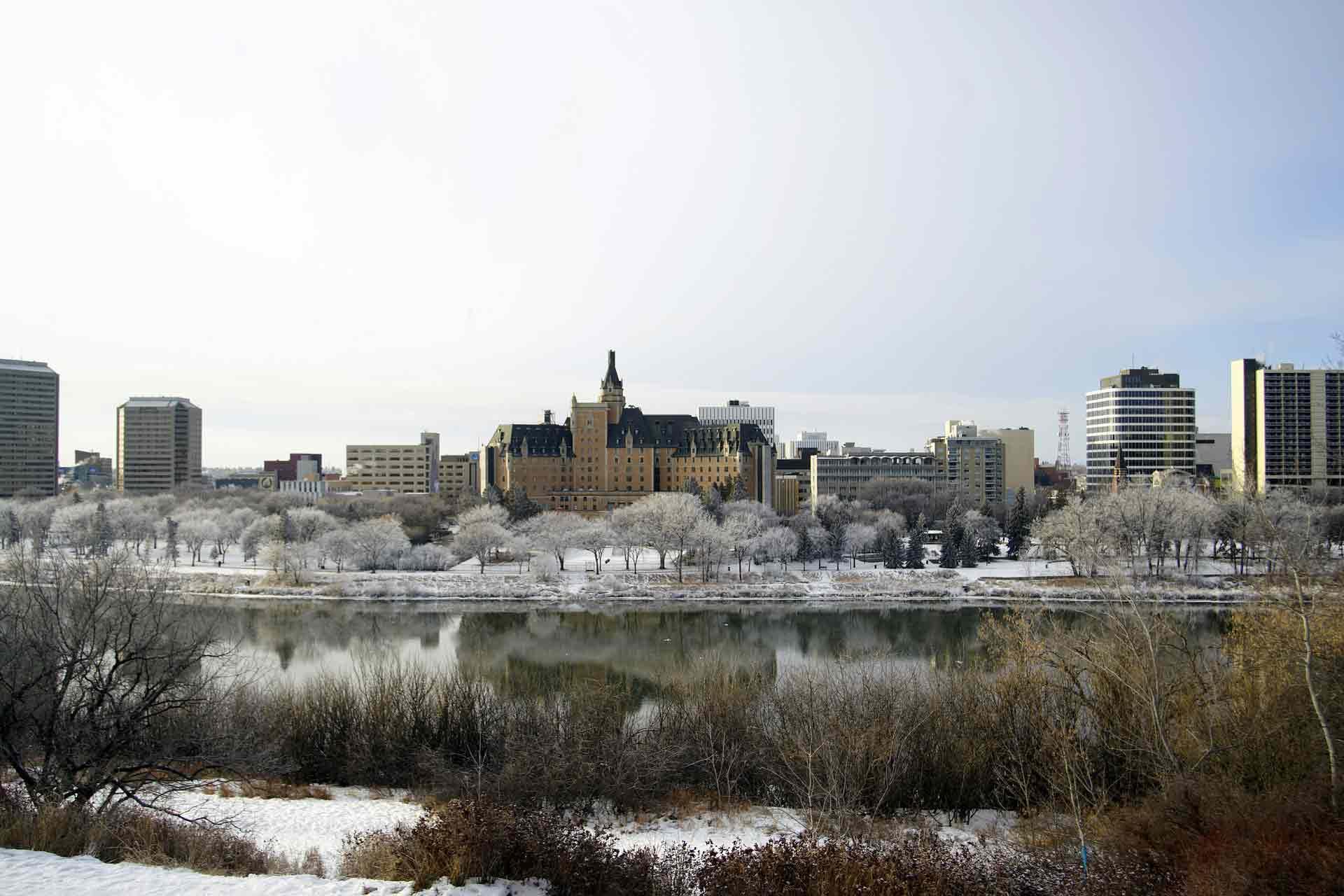 saskatoon saskatchewan in winter