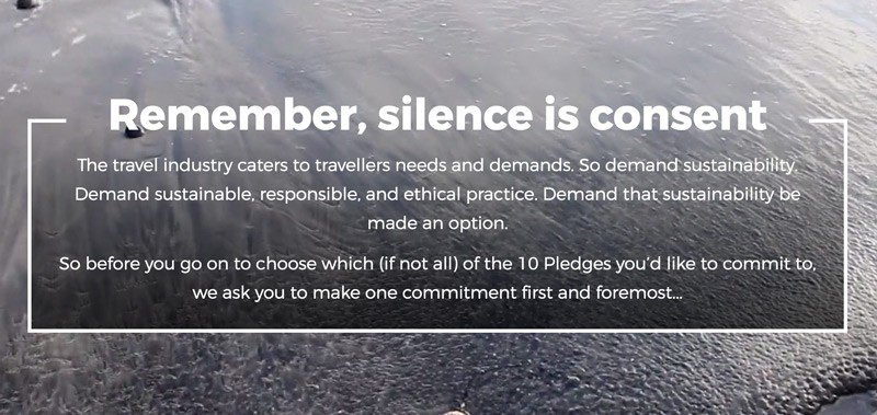 save our planet silence is consent