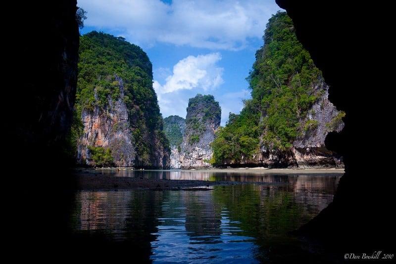 sea canoe Thailand lagoons hongs
