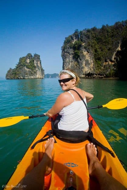 sea kayak thailand