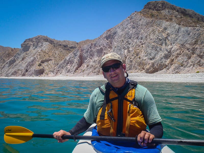 sea kayaking Baja Mexico Dave
