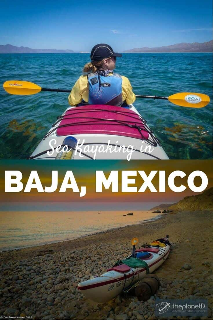 sea kayaking in Baja Mexico