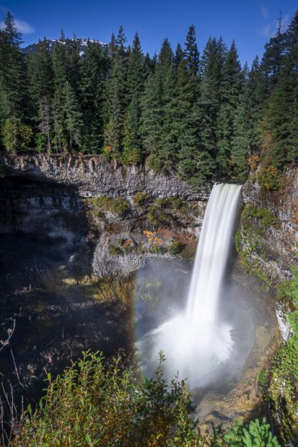 Brandywine Falls on the Sea to Sky Highway near Whistler