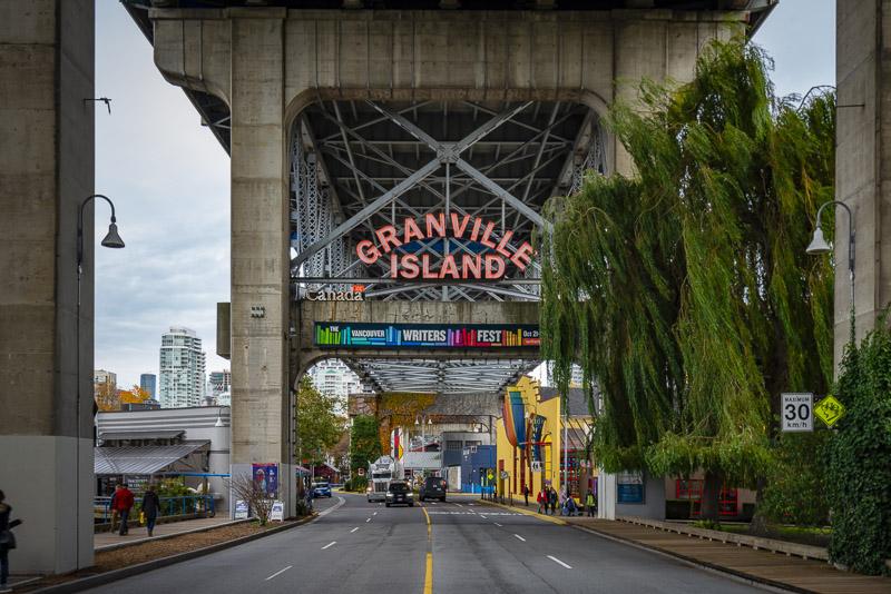 Granville Island in Vancouver BC