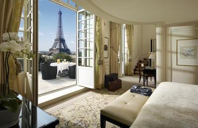 paris hotels shangrila