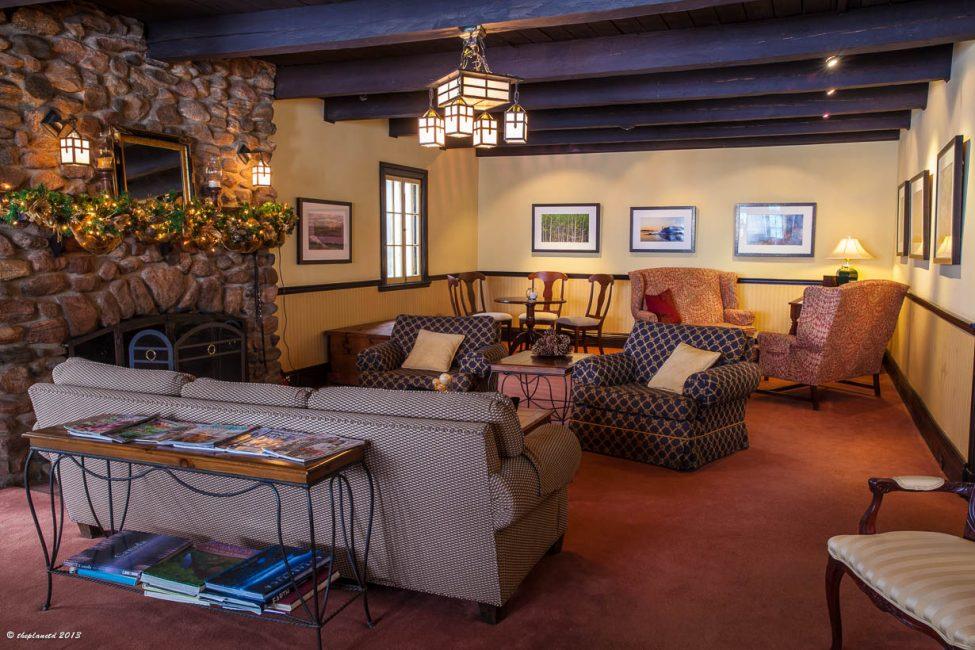 Luxury decor in a rustic setting Sir Sam's haliburton