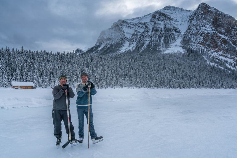 skating lake louise men