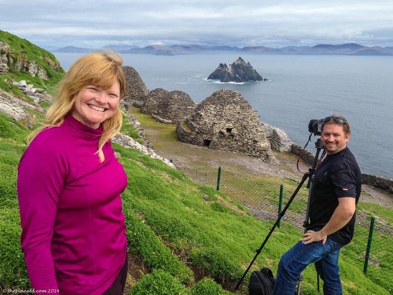 Skellig Islands Star Wars Dave et Deb