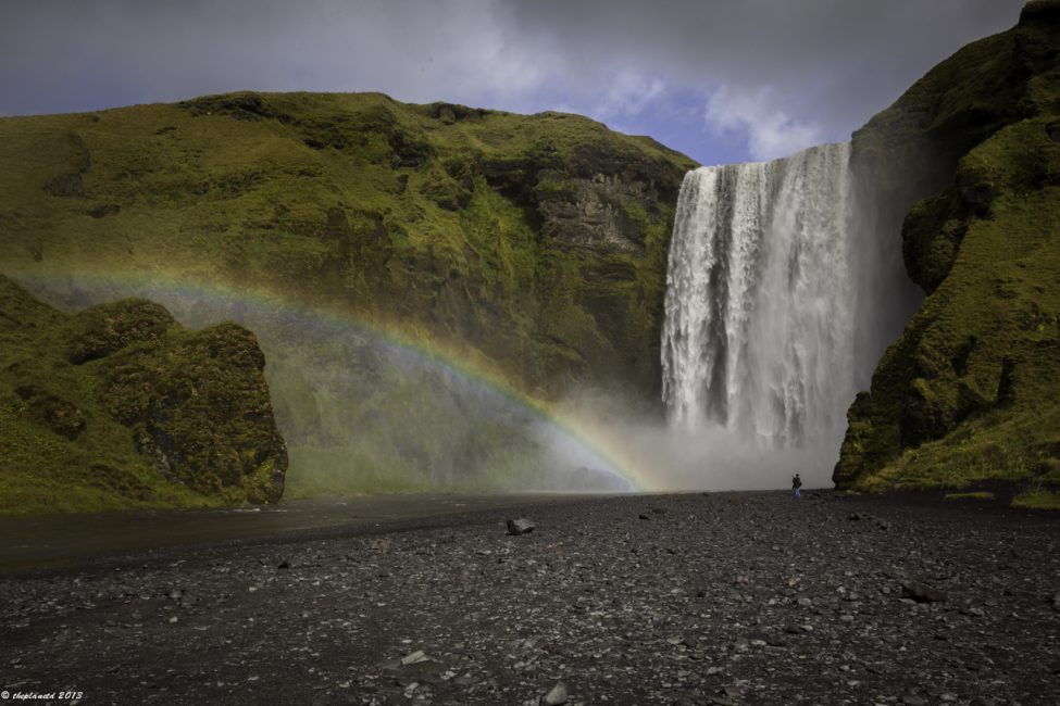Skogafoss never fails to impress.