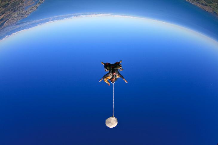 skydive parachute